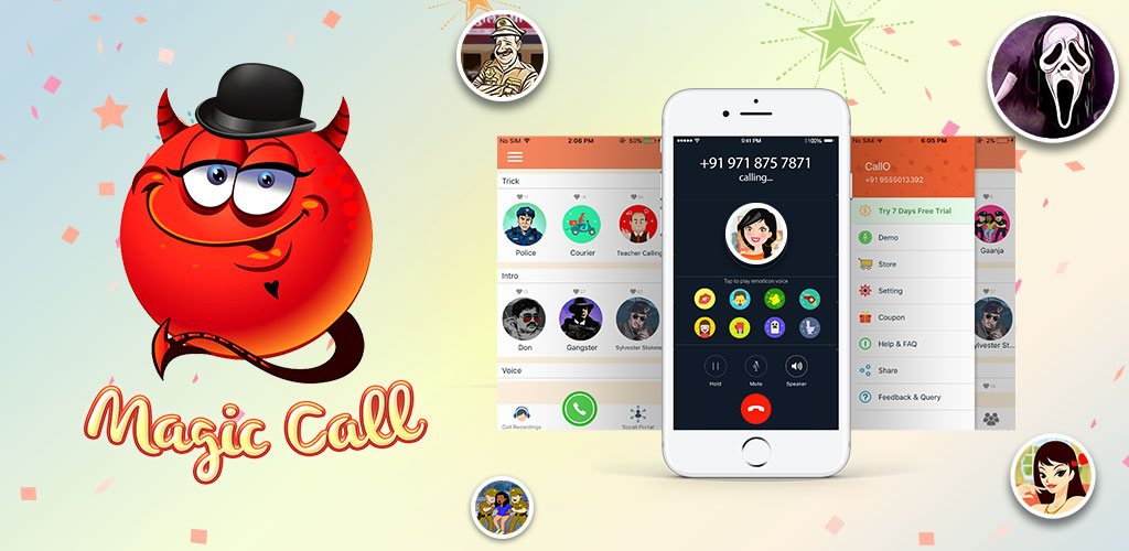 voice changer call app